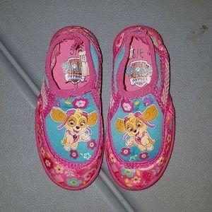 Paw Patrol swim shoes size 5/6